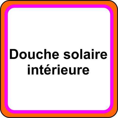 5 icone - Douche solaire