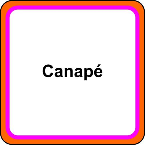 6 icone - Canapé